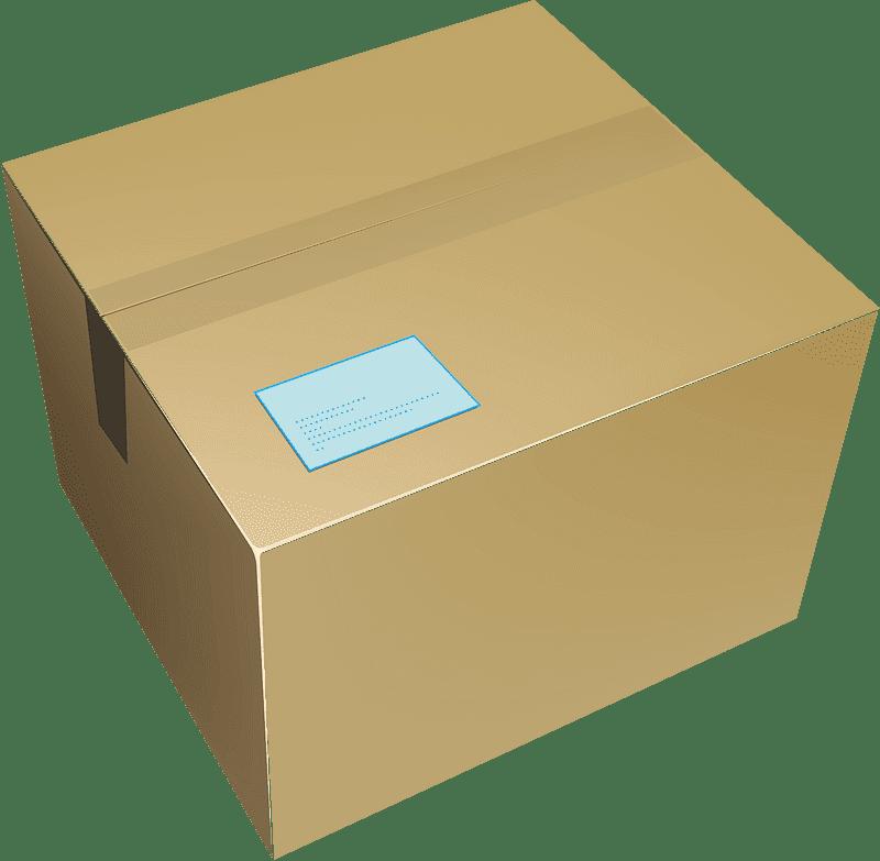 Box clipart transparent 8