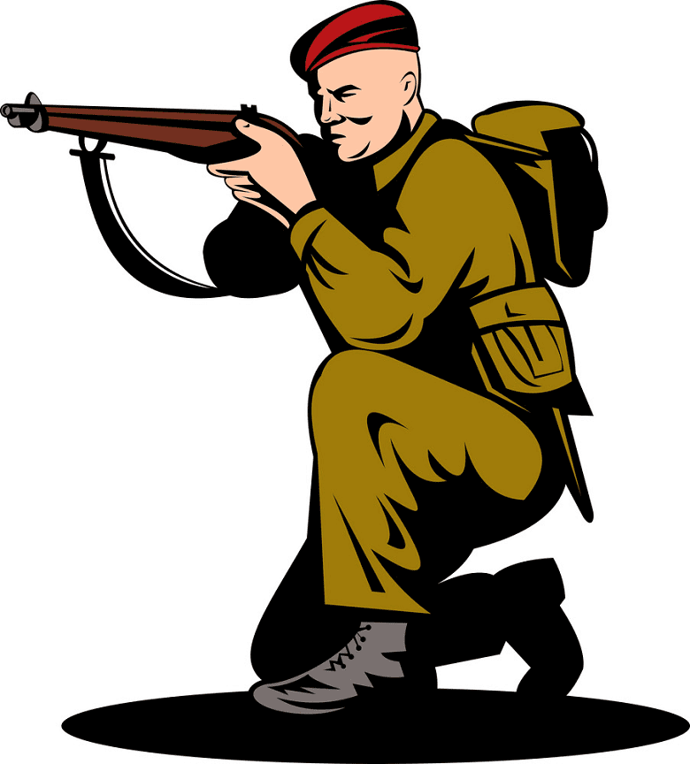 British Soldier clipart png