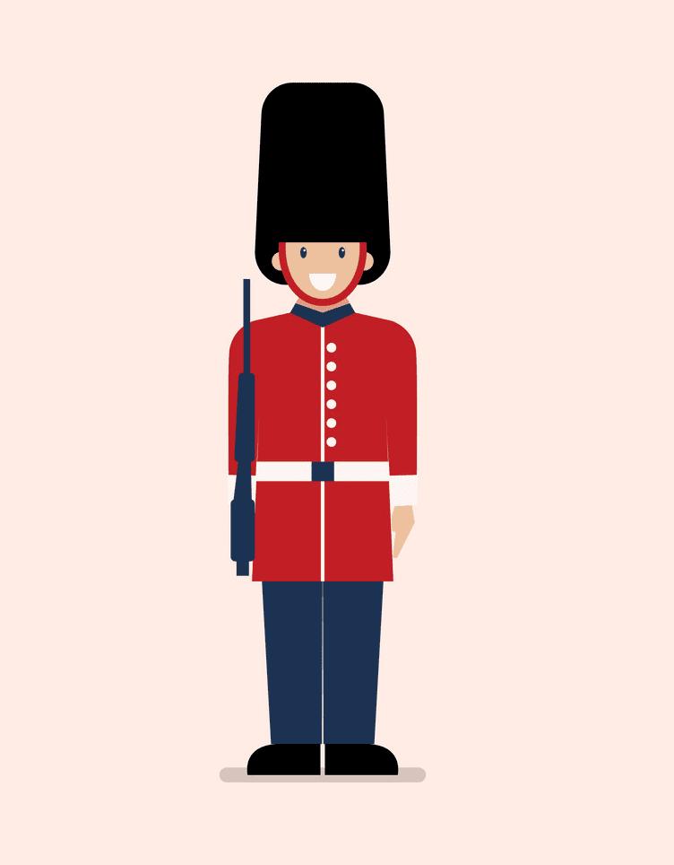 British Soldier clipart
