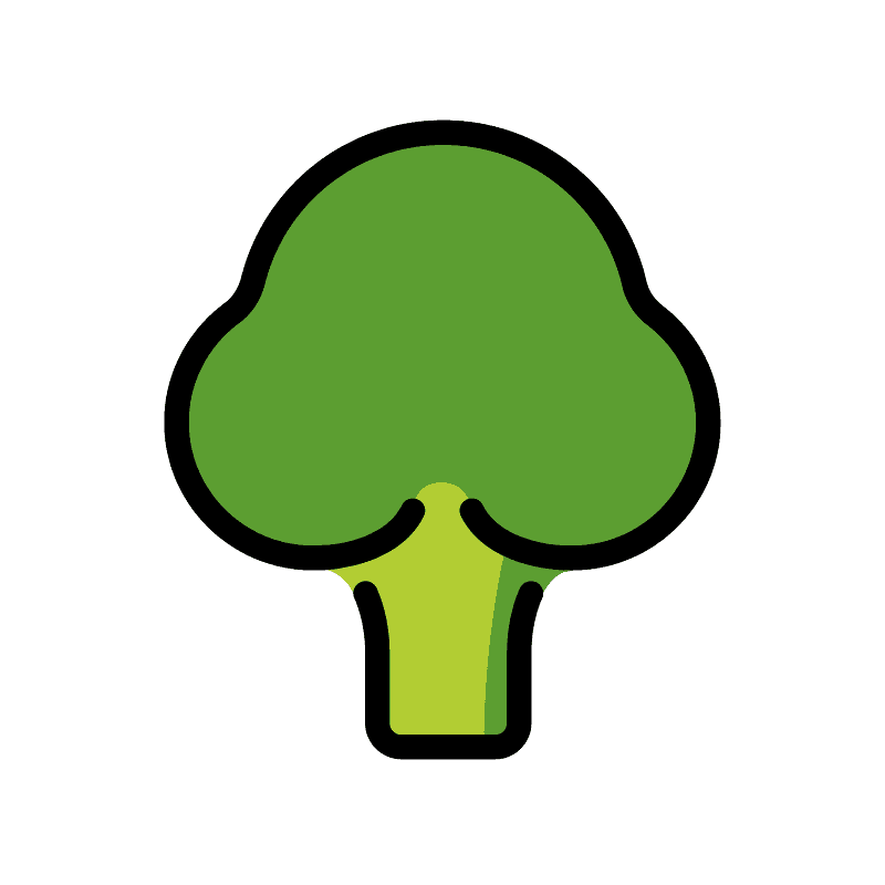 Broccoli clipart transparent 1