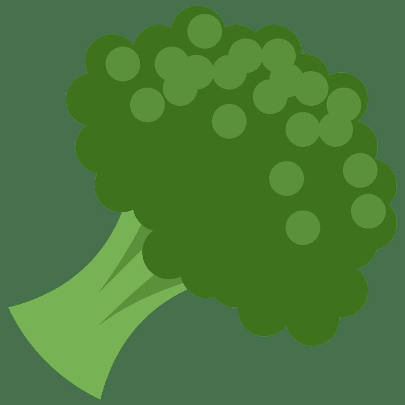 Broccoli clipart transparent 2