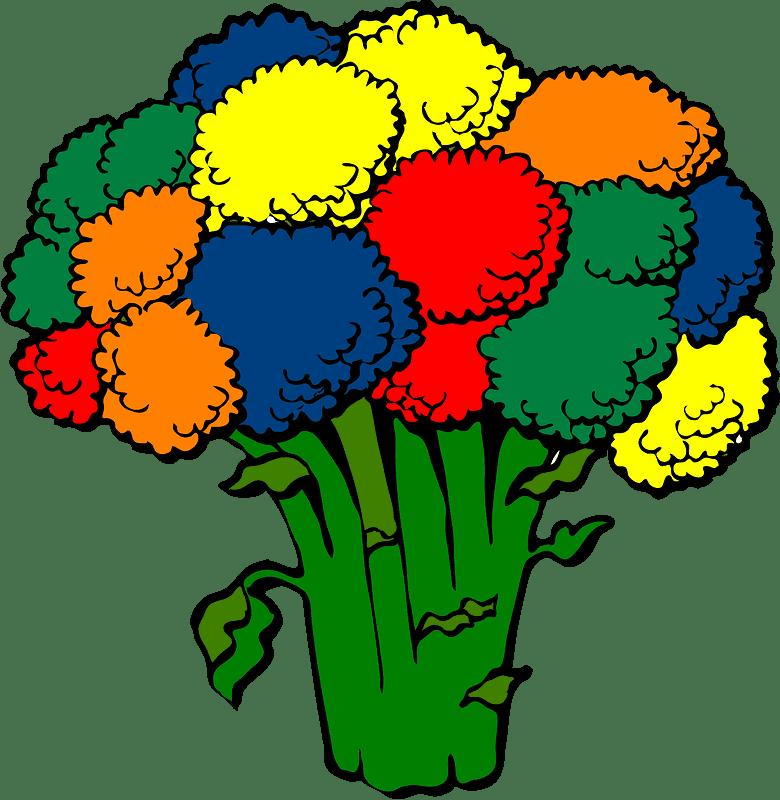 Broccoli clipart transparent for kids