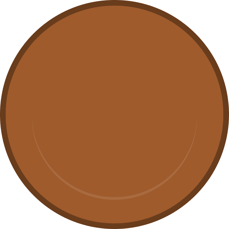 Brown Coin clipart transparent image