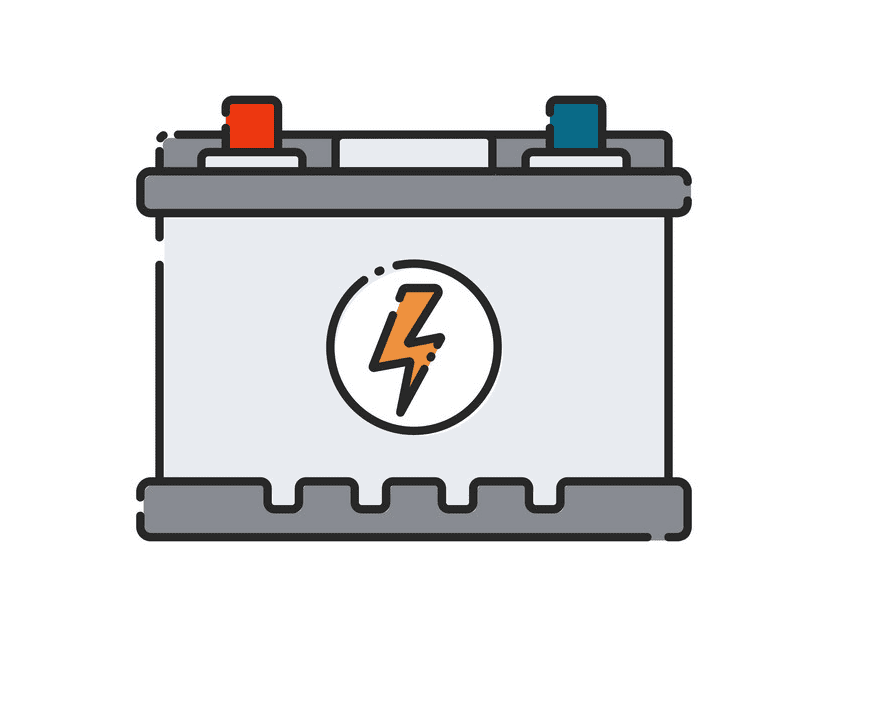 Car Battery clipart for free