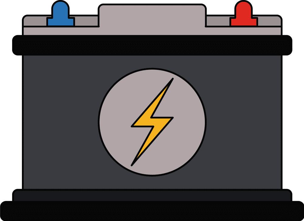 Car Battery clipart for kids