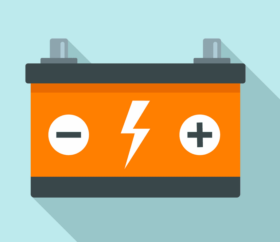 Car Battery clipart free