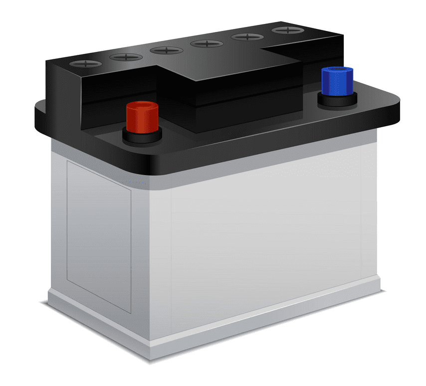 Car Battery clipart png free
