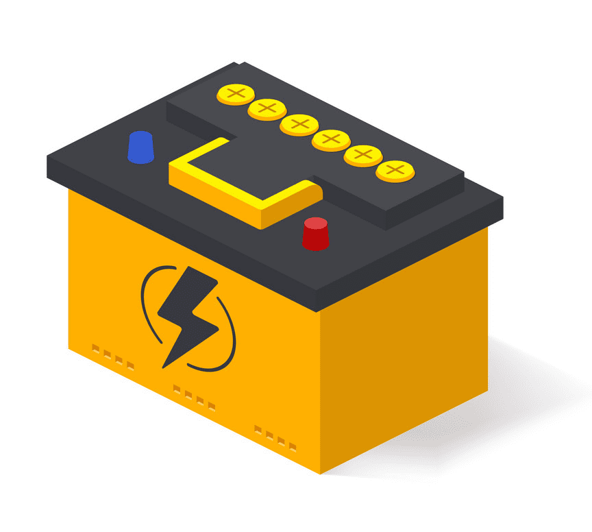 Car Battery clipart png image