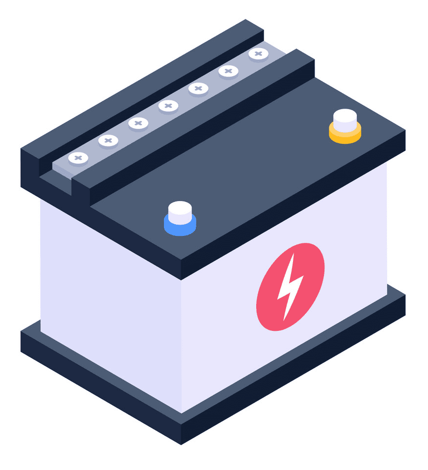 Car Battery clipart png images