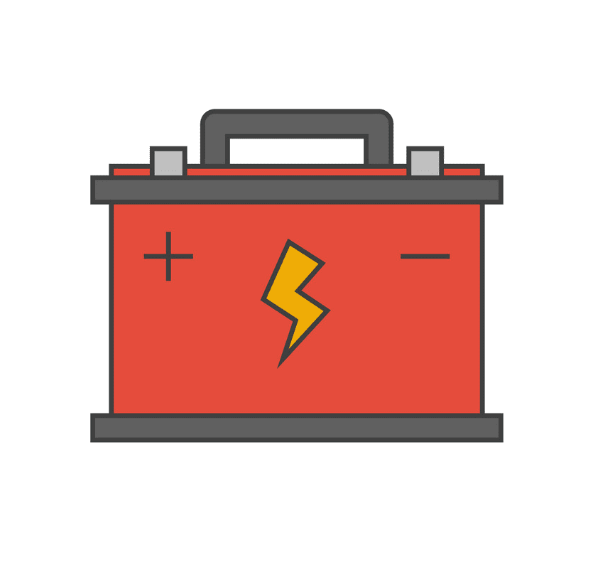 Car Battery clipart png