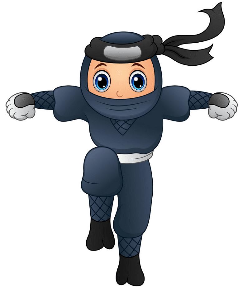 Cartoon Ninja clipart