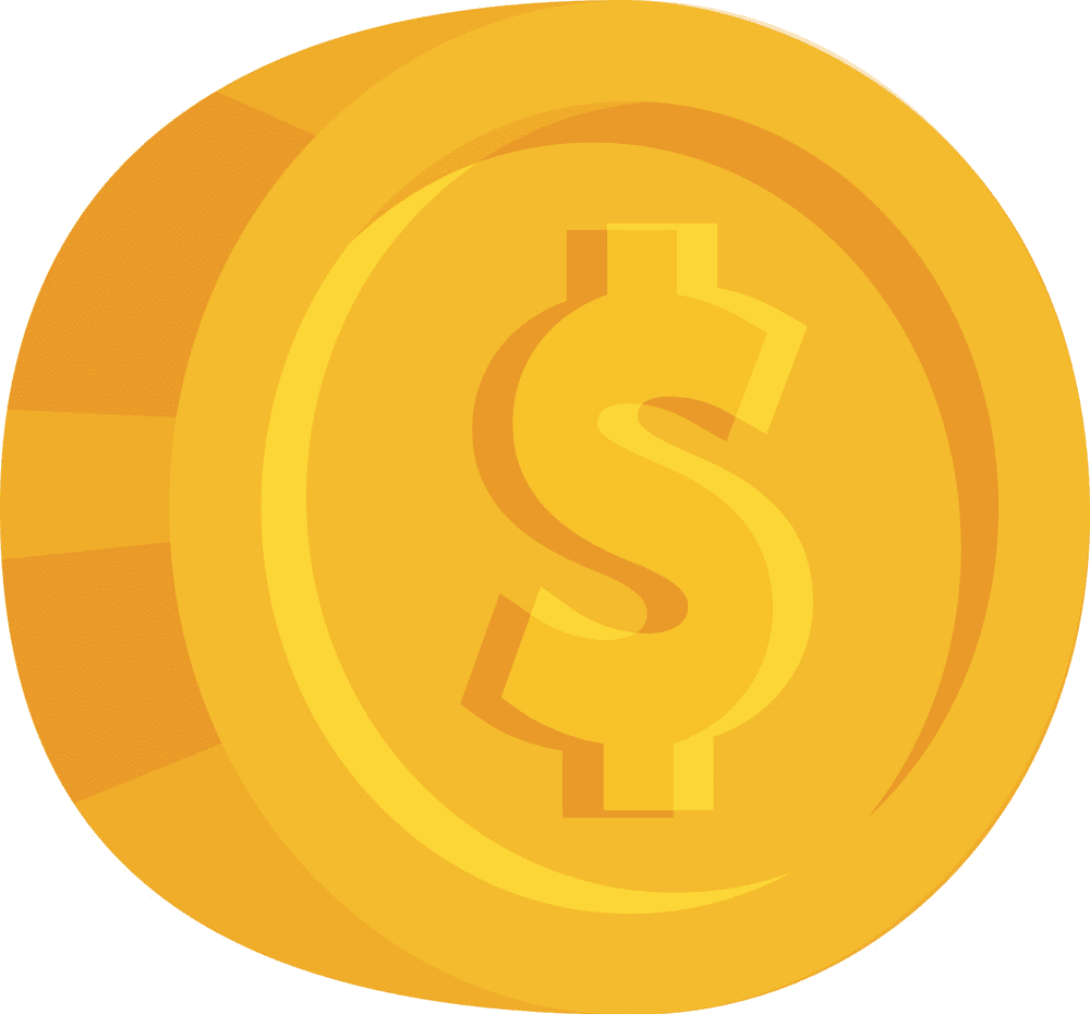 Coin clipart for free