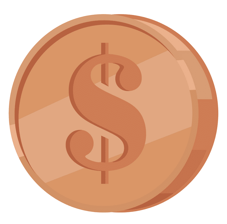 Coin clipart png image