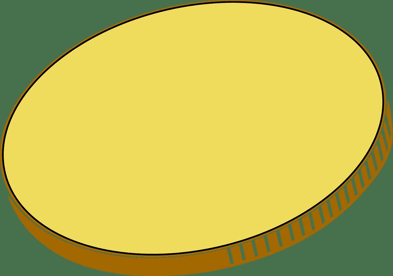 Coin clipart transparent 2