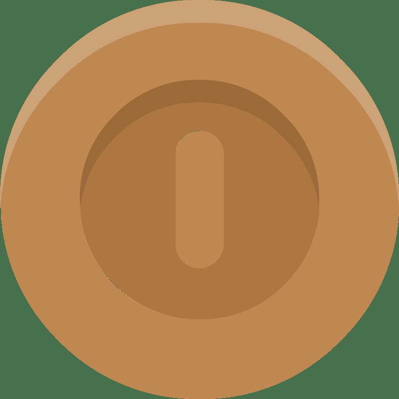 Coin clipart transparent 3