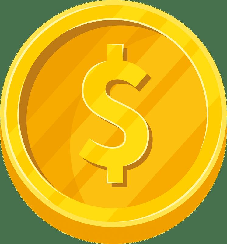 Coin clipart transparent 5