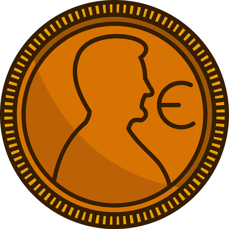 Coin clipart transparent background 2