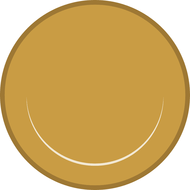 Coin clipart transparent for free