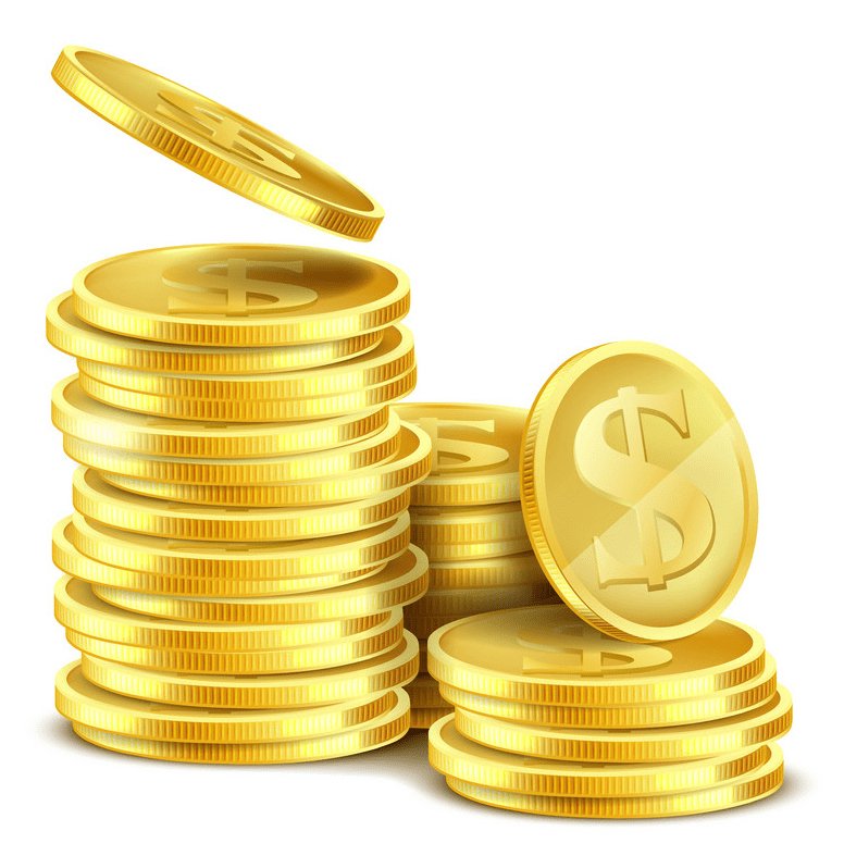 Coins clipart image