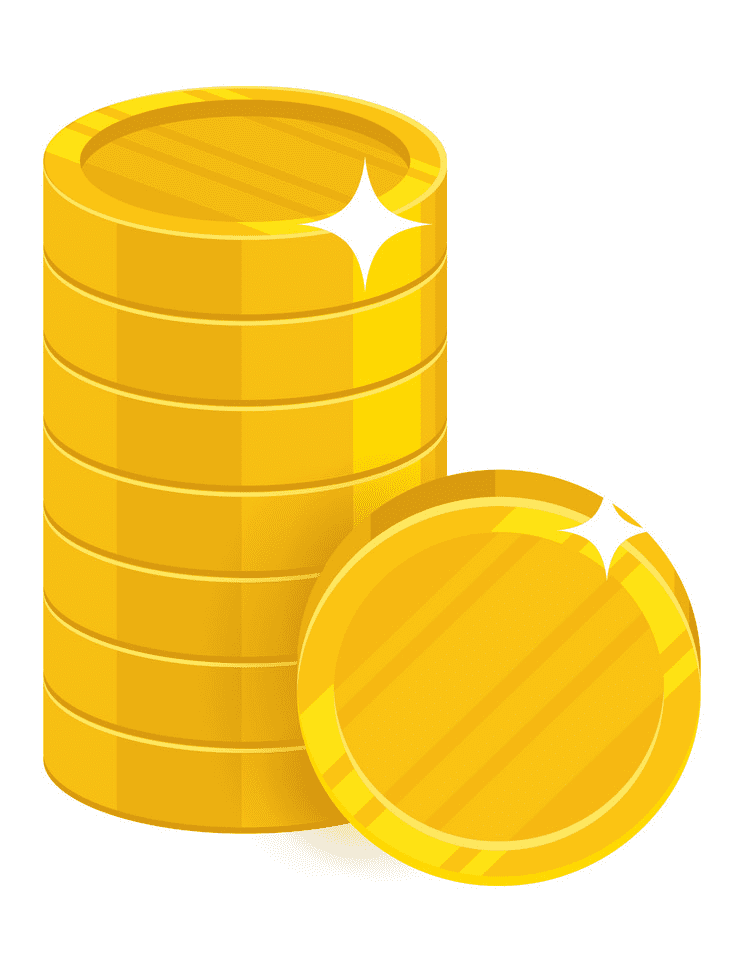 Coins clipart png free