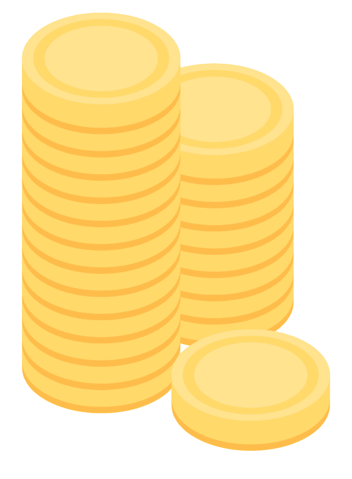 Coins clipart png images