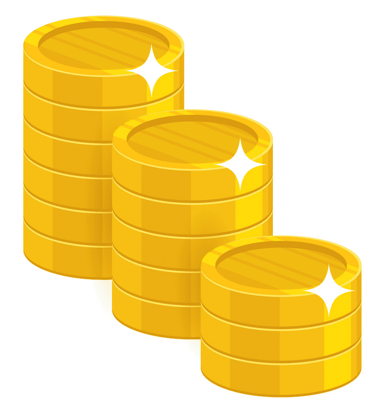 Coins clipart png