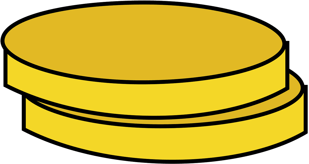Coins clipart transparent 2