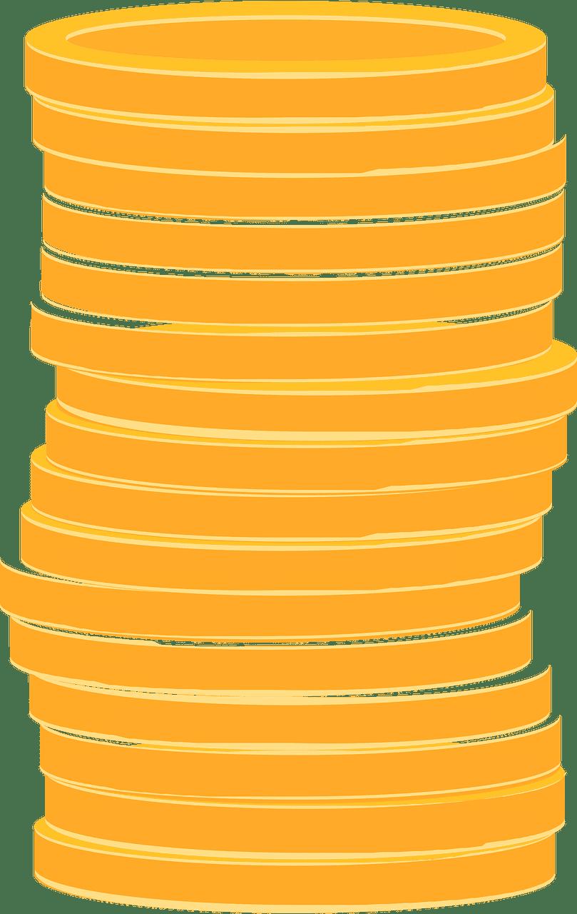 Coins clipart transparent 3