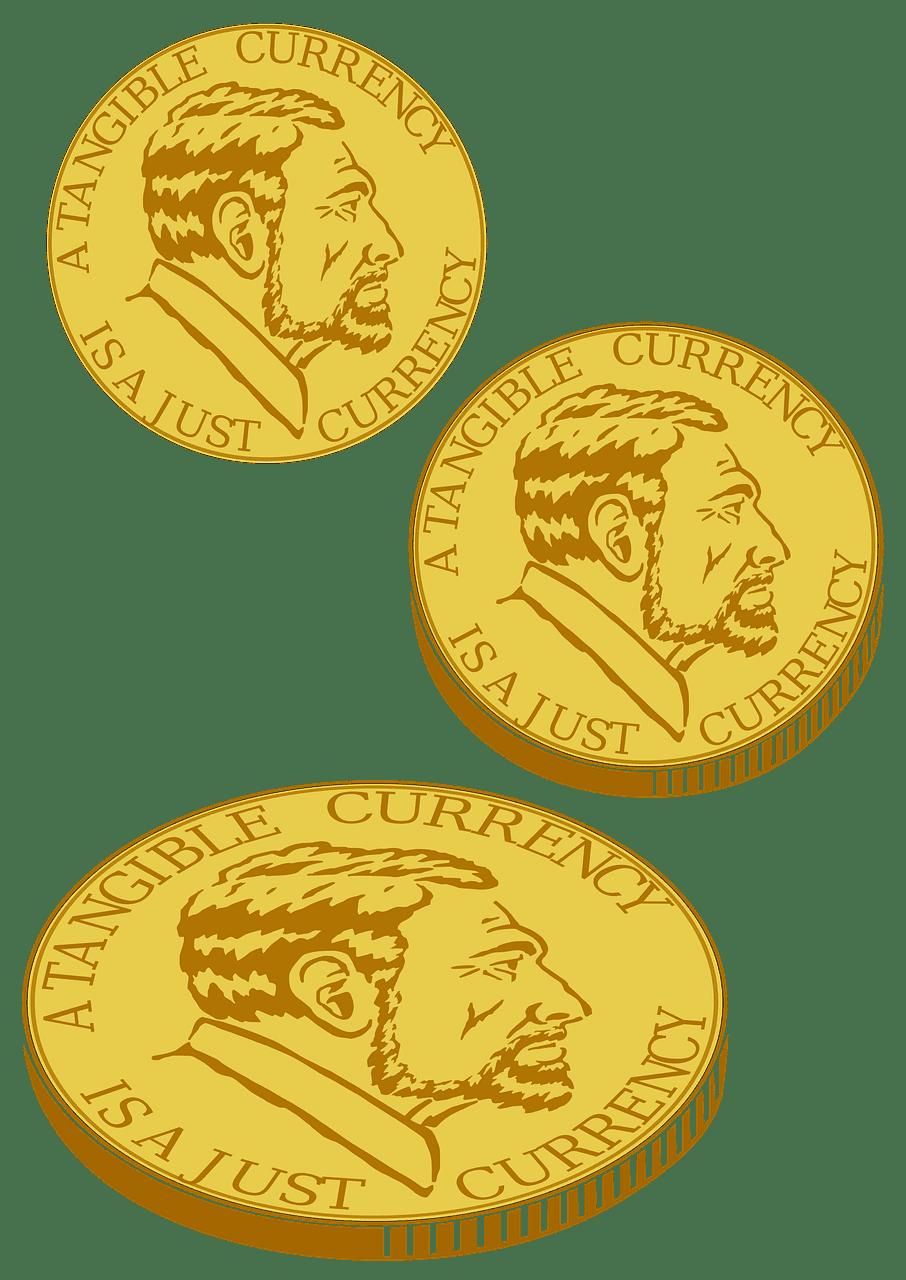 Coins clipart transparent free