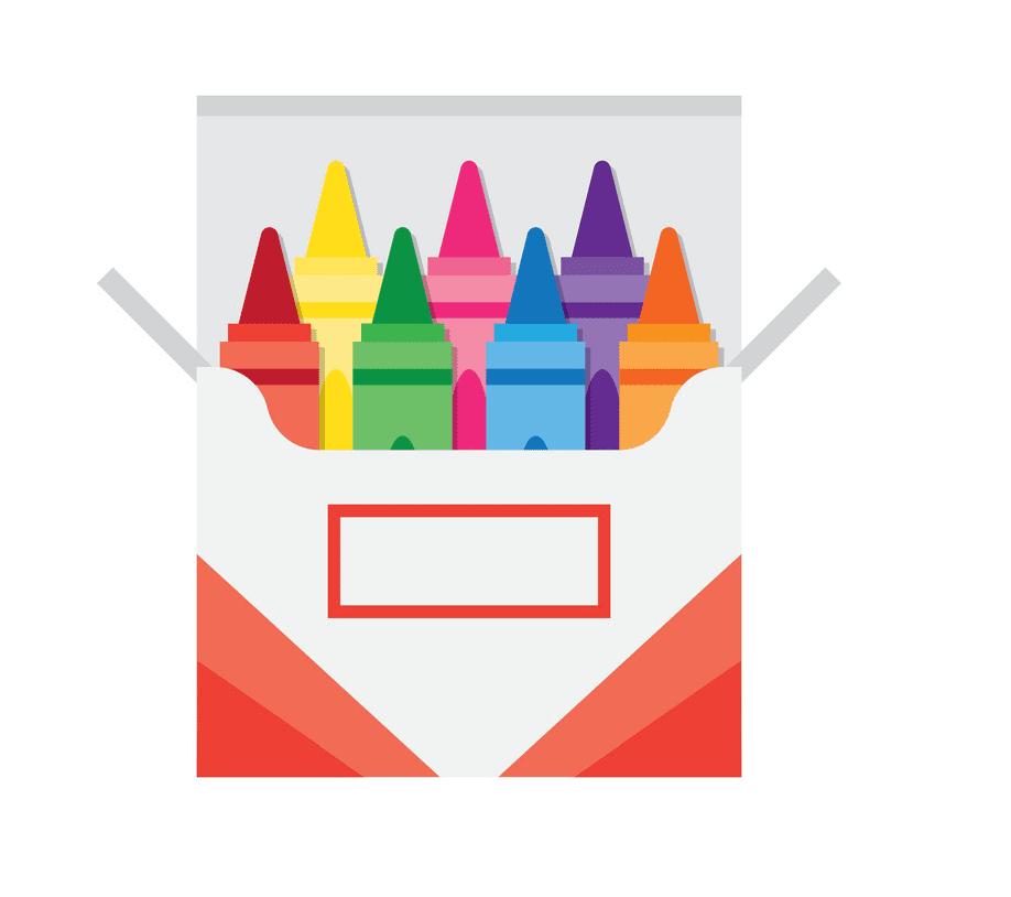 Crayon Box clipart images