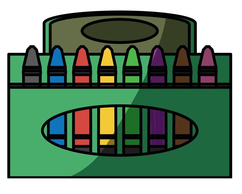 Crayon Box clipart png image
