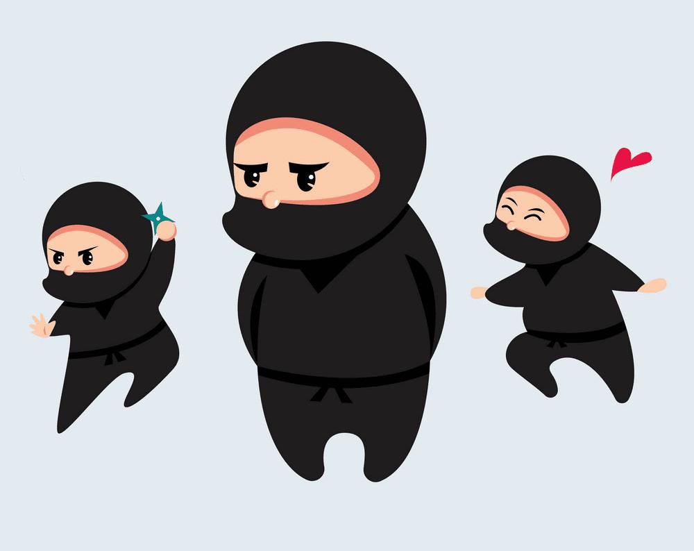 Cute Ninja clipart