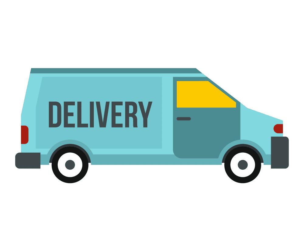 Delivery Van clipart download