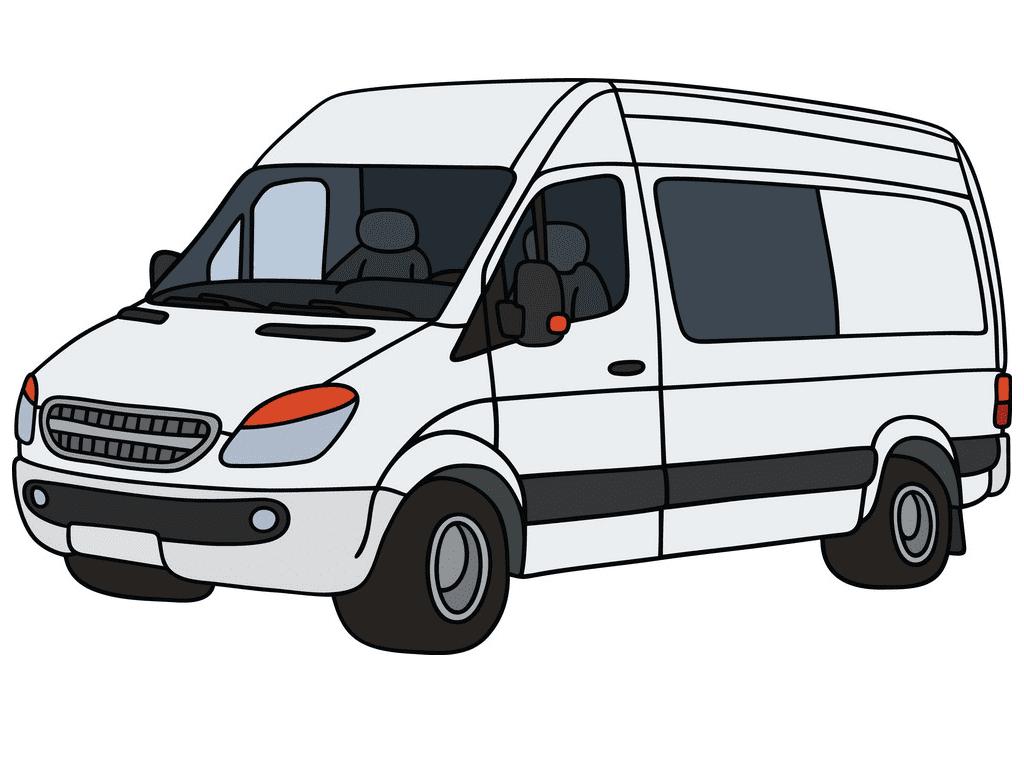 Delivery Van clipart images