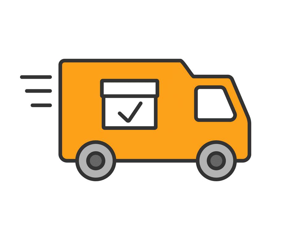 Delivery Van clipart png