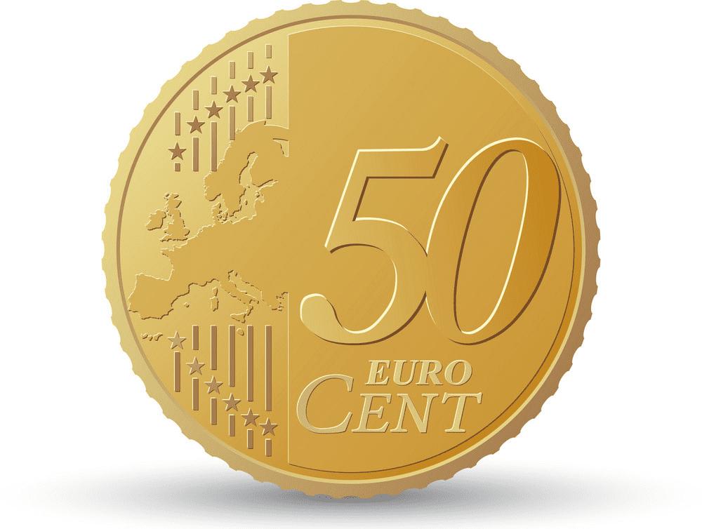 Euro Coin clipart