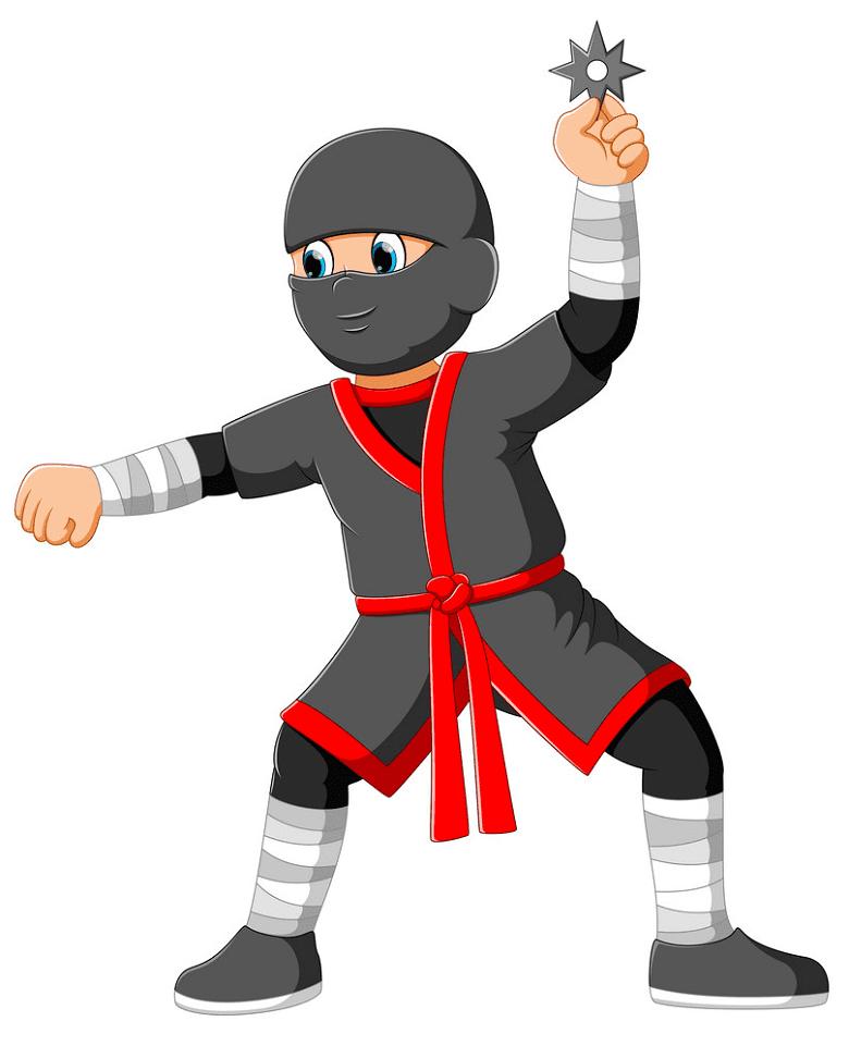 Free Ninja clipart download
