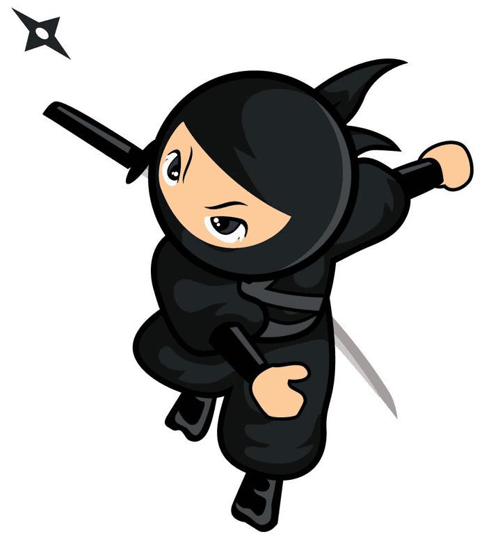 Free Ninja clipart for kid