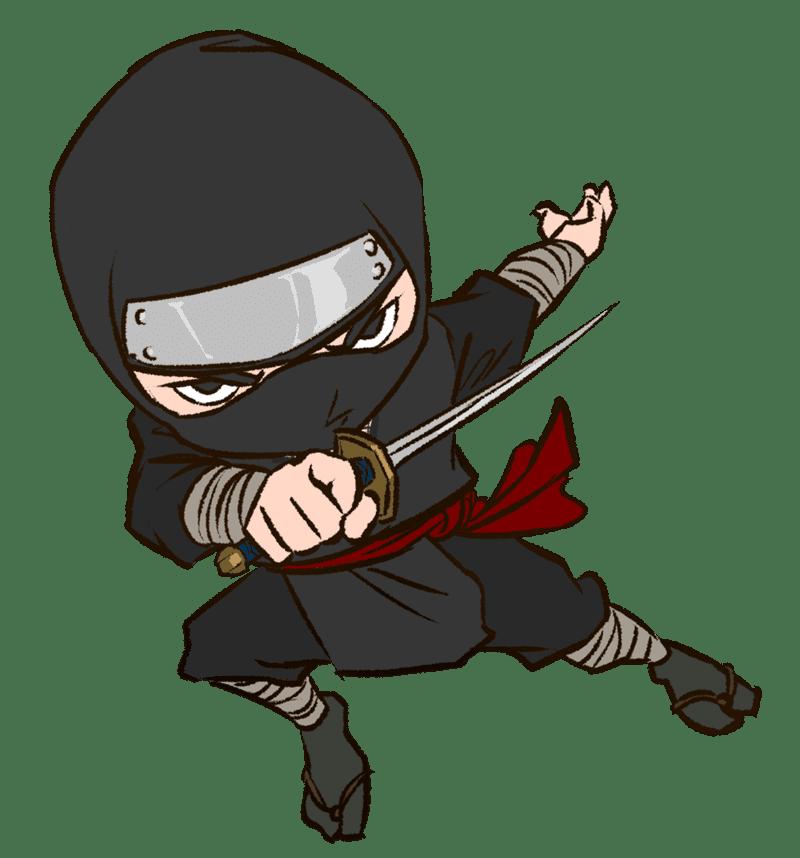 Free Ninja clipart for kids