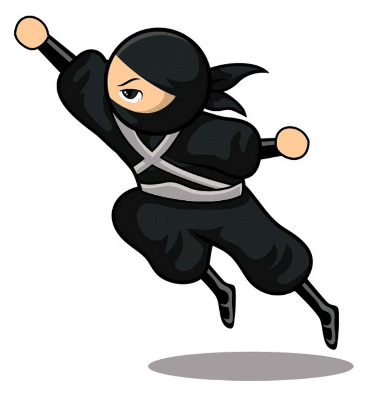 Free Ninja clipart image
