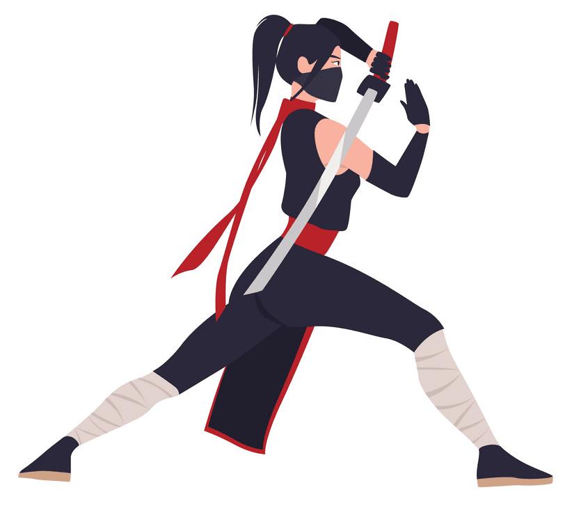 Free Ninja clipart png image