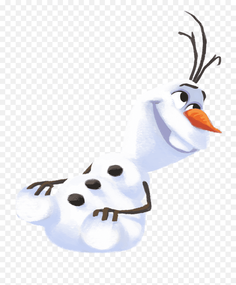 Free Olaf clipart png for kid