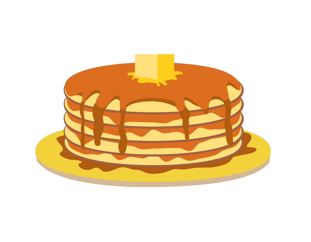 Free Pancakes clipart image