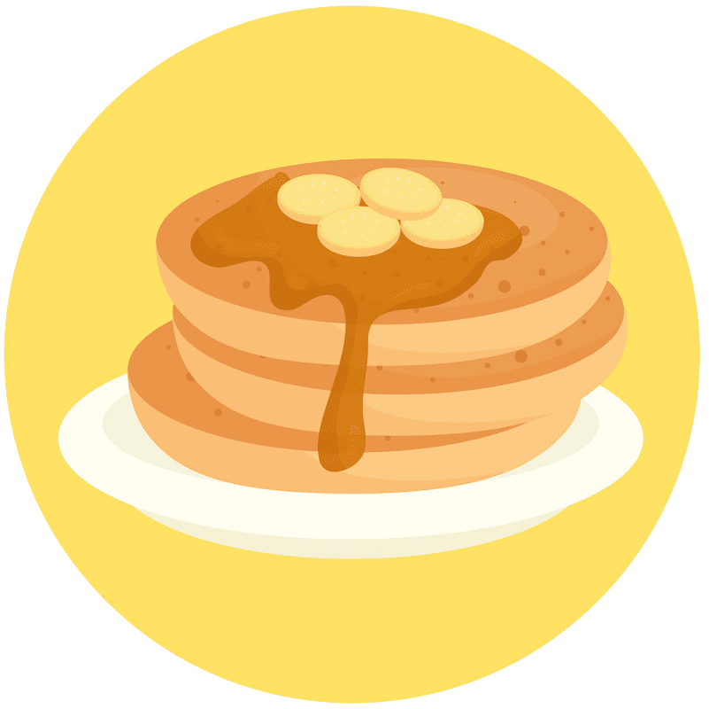 Free Pancakes clipart images