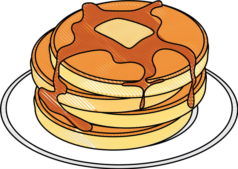 Free Pancakes clipart picture