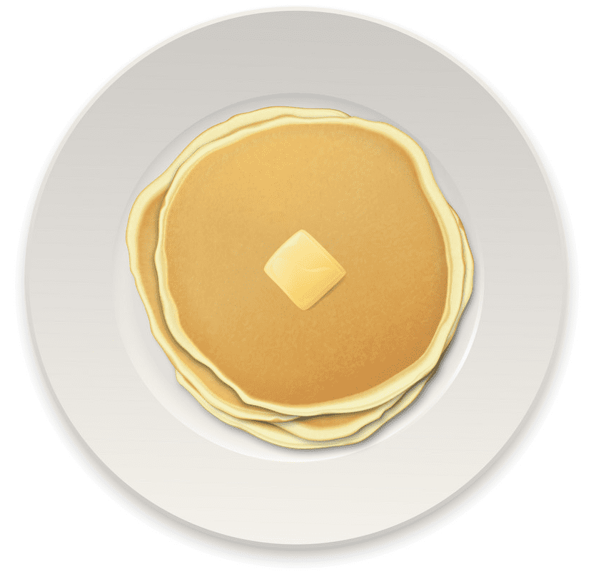 Free Pancakes clipart