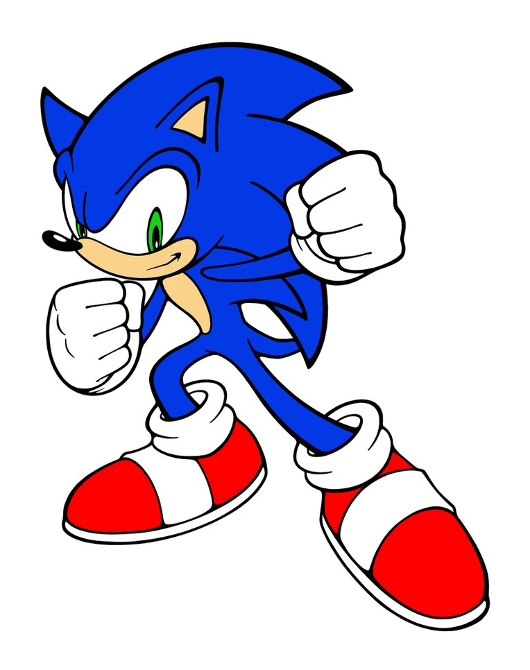 Free Sonic clipart download
