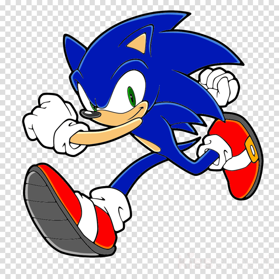 Free Sonic clipart for kid