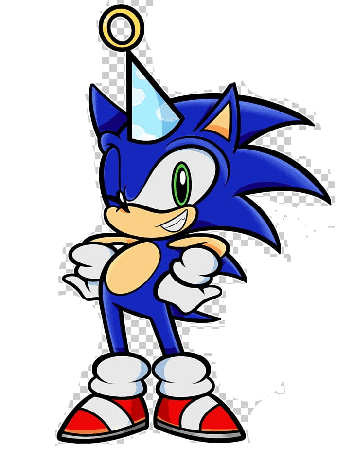 Free Sonic clipart image