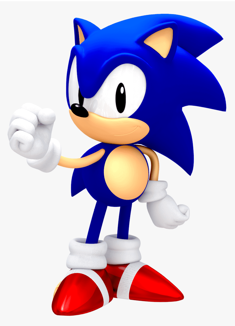 Free Sonic clipart png image